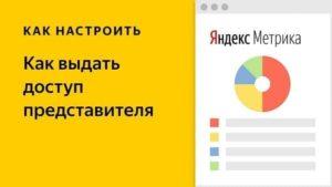 Как дать доступ к Яндекс.Метрике: гостевой или публичный