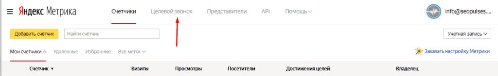 Переход в Целевой звонок 2.0 в Яндекс.Метрике