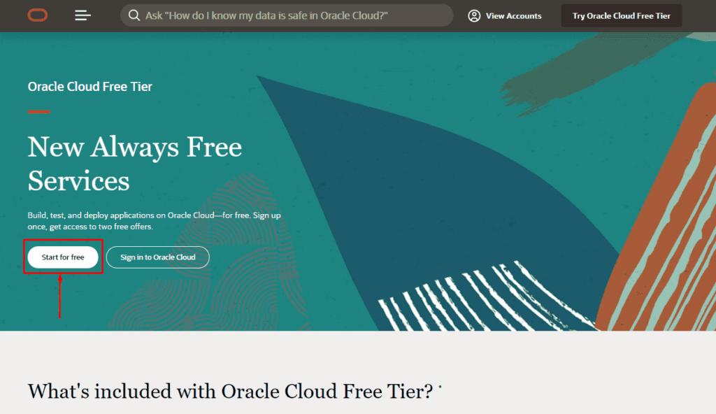 Получение бесплатного VPS навсегда в Oracle