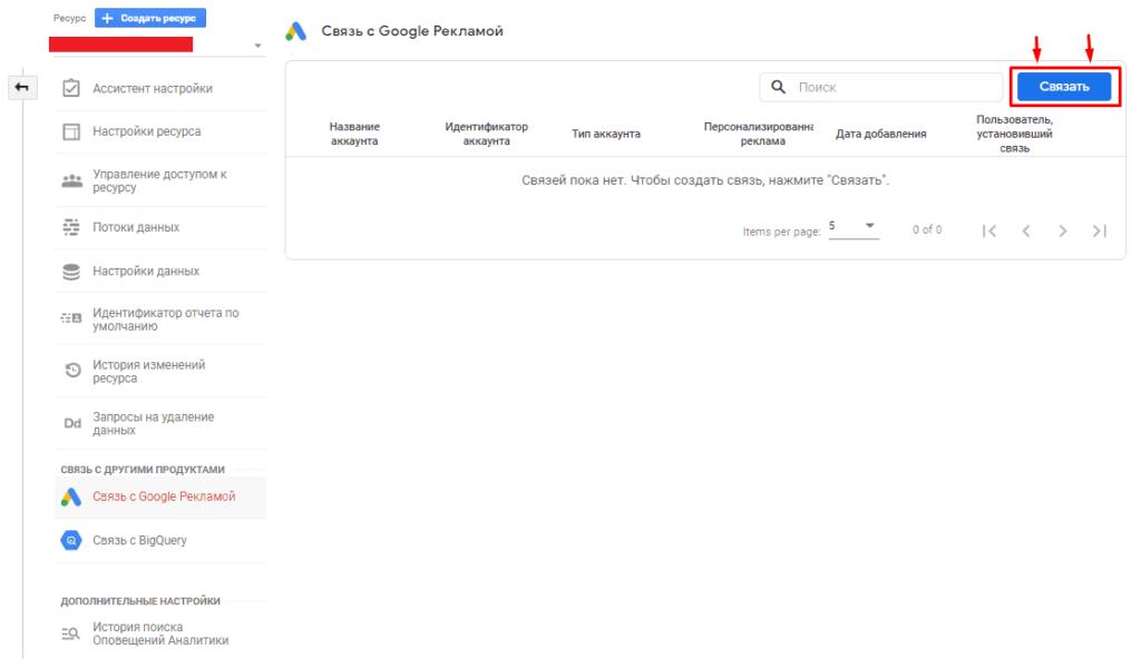 Связь GA4 и Google Ads