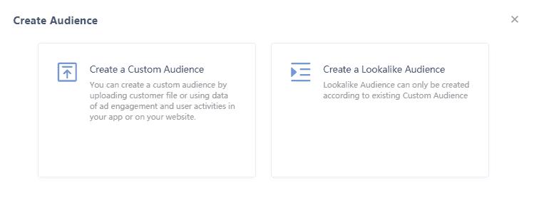 Создание пользовательской аудитории или Look a Like в Tik Tok